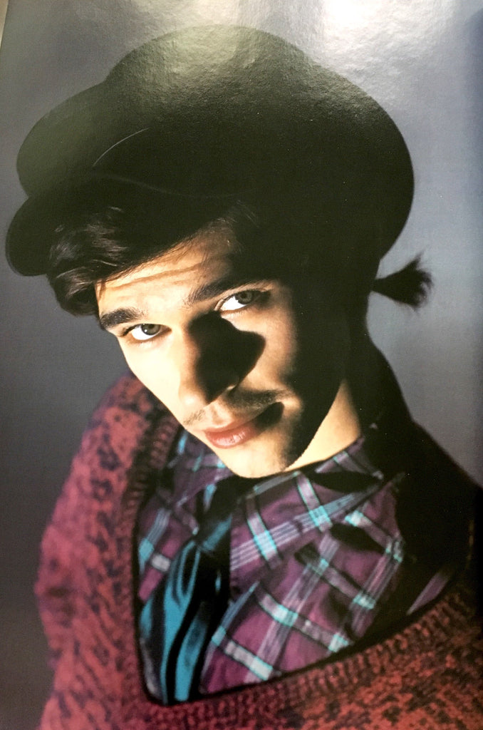 BEN WHISHAW 8 pages edit in scarce Italian fashion magazine 2005 WILLY VANDERPERRE