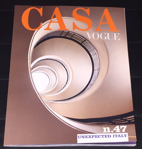 CASA VOGUE 47 Magazine April 2017 Vintage Interior Design & Trends COVER 1