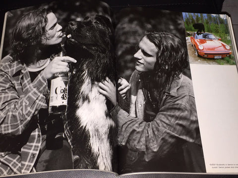 BRUCE WEBER 20 pages GENTLE GIANTS Uomo Vogue Magazine