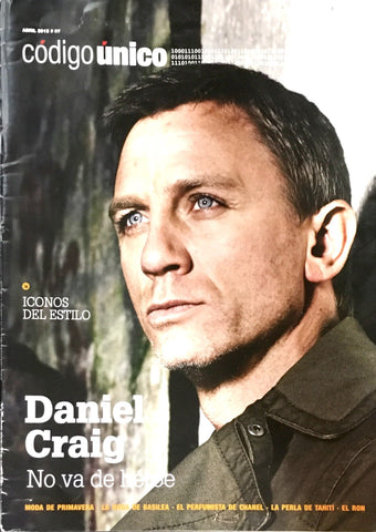 Codigo UNICO Magazine April 2012 DANIEL CRAIG Marilyn Monroe SPAIN Spanish