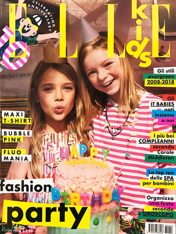 ELLE KIDS Junior Children Enfant Fashion BAMBINI Magazine April 2018