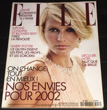 ELLE France Magazine December 2001 BRIDGET HALL Helen Hunt PAOLO ROVERSI