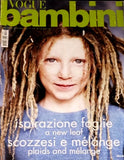 VOGUE BAMBINI Kids Children Enfant Fashion ITALIA Magazine September 2002