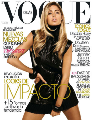 VOGUE Spain Espana Magazine 2013 DOUTZEN KROES Debbie Harry MARTE MEI Jennifer Garner
