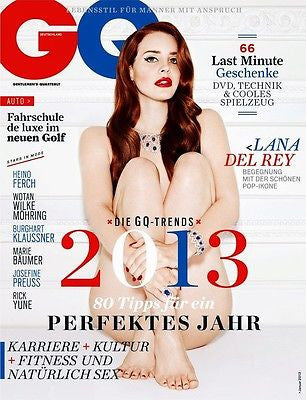 GQ Magazine Germany January 2013 LANA DEL REY by MARIANO VIVANCO Brand New