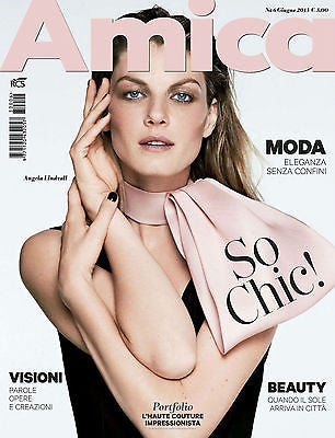 AMICA Magazine 2013 ANGELA LINDVALL Jude Law MICHELLE WILLIAMS Iekeliene Stange