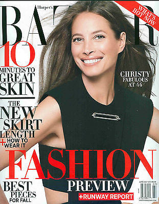 HARPAR's Bazaar US Magazine July 2013 CHRISTY TURLINGTON Lily Donaldson MANON LELOUP