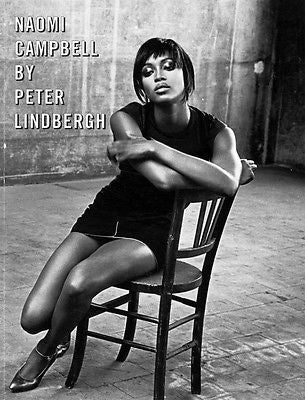 VOGUE Italia Magazine PHOTO BOOK NAOMI CAMPBELL by Peter Lindbergh