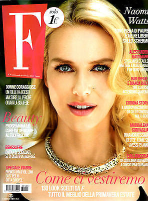 Fashion Italian Magazine NAOMI WATTS Katharine Hepburn EVA LONGORIA Spencer Tracy