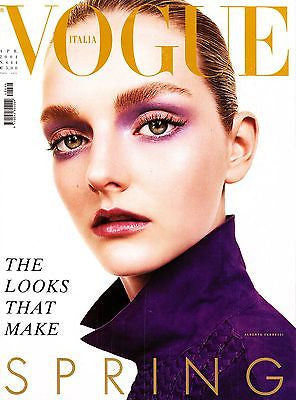 VOGUE Italia Magazine April 2004 LYDIA HEARST Lisa Cant AMBER VALLETTA Heather Marks
