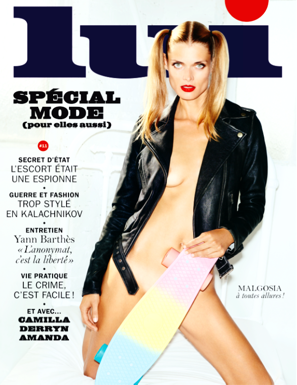 LUI Magazine #11 October 2014 MALGOSIA BELA Purienne DERRYN LESTER English Text