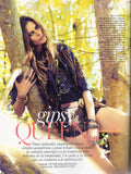 VOGUE Spain Magazine February 2012 ISABELI FONTANA Barbara Palvin IZABEL GOULART