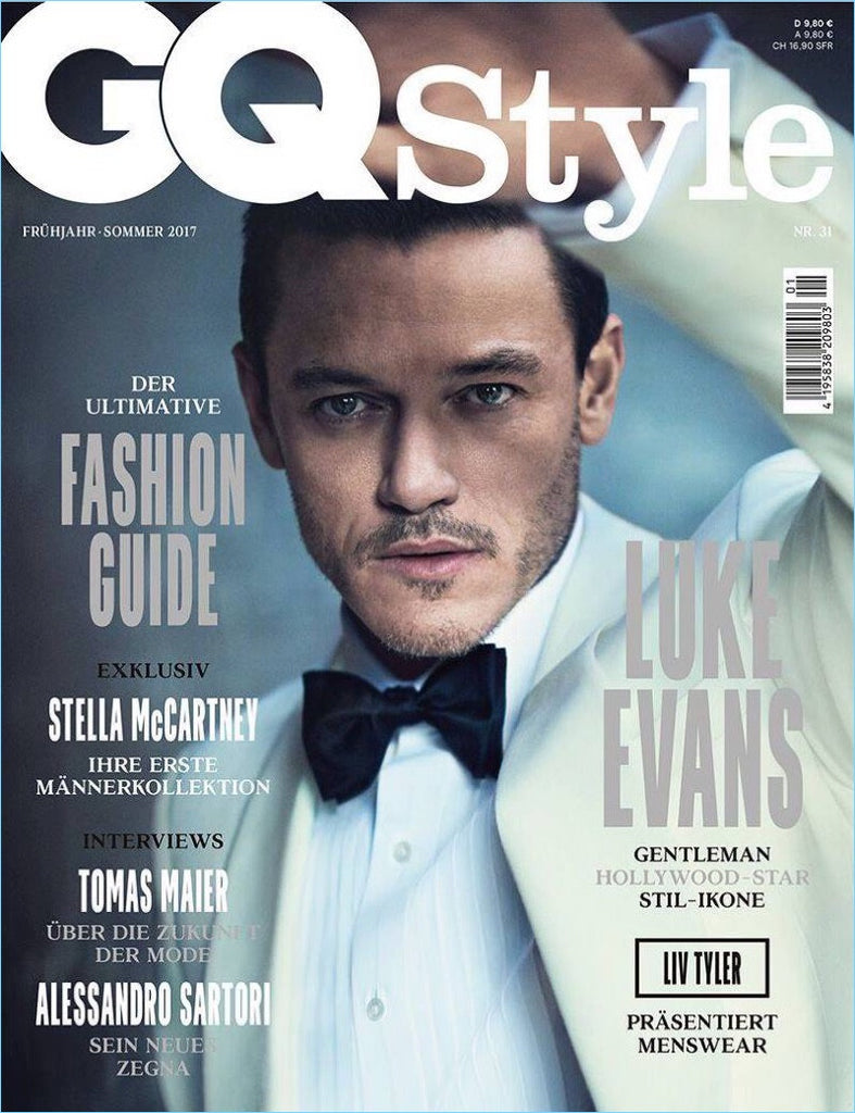 GQ Style Germany Magazine  Summer 2017LUKE EVANS Liv Tyler BILL MOSELEY