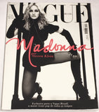Vogue BRAZIL Magazine December 2008 MADONNA Karlie Kloss ANA CLAUDIA MICHELS