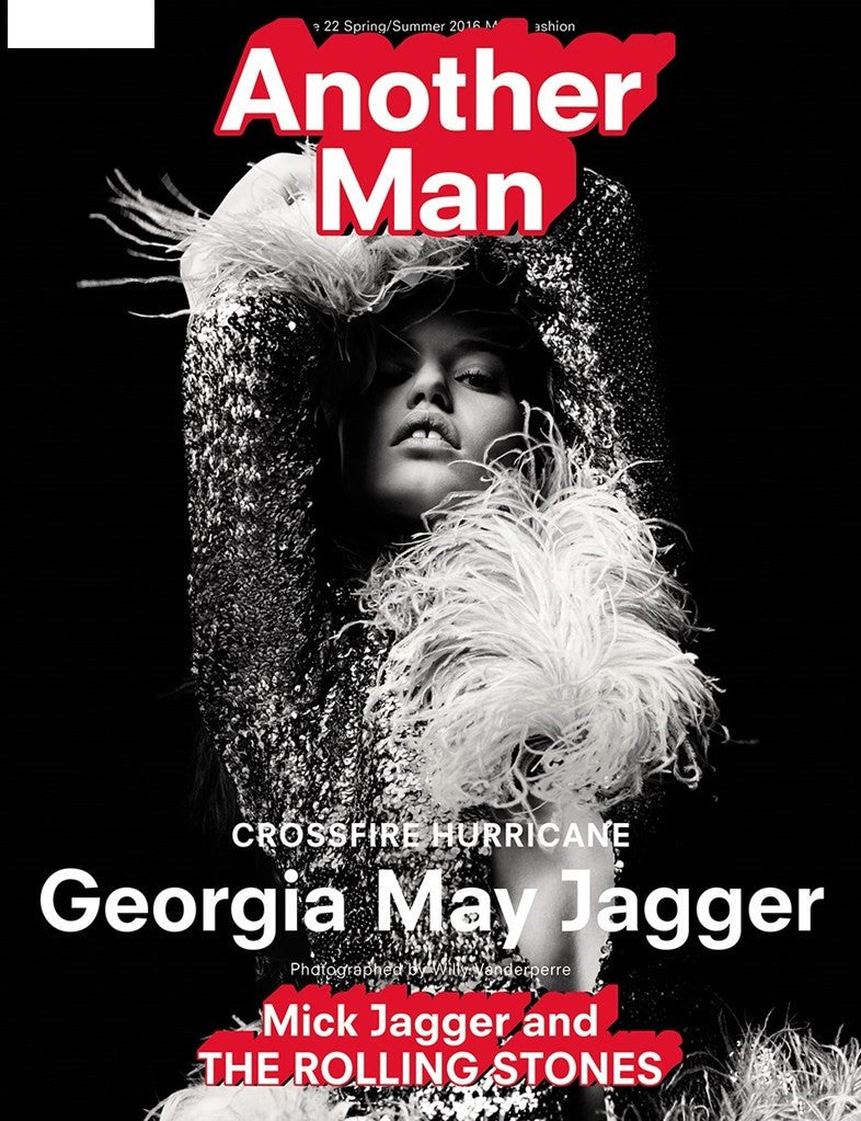ANOTHER MAN MAGAZINE Spring/Summer 2016 Georgia May Jagger By Willy Vanderperre SKY FERREIRA