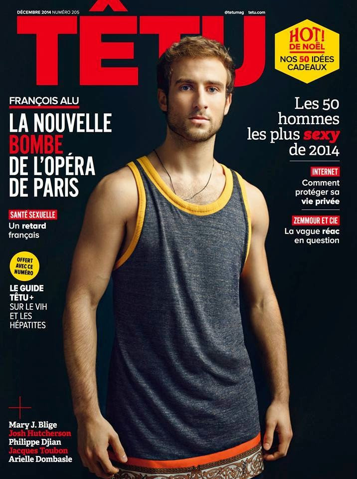 TETU Magazine December 2014 SEALED Gay Int FRANCOIS ALU Josh Hutcherson