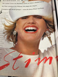VOGUE Germany Magazine December 1984 PIA LIND Alison Cohn CHRISTINE BAILEY