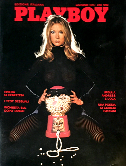 PLAYBOY Magazine November 1973 URSULA ANDRESS Julie Woodson GIANNI RIVERA