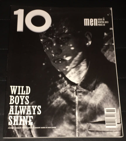 10 Ten Men Magazine Winter 2013 ANDREAS LINDQUIST Dylan Fosket VALTERS MEDENIS