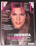 ELLE Spain Magazine December 1994 CINDY CRAWFORD Madonna CARMEN CARMEN