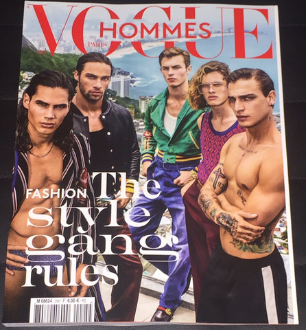 VOGUE HOMMES Magazine S/S 2017 KIT BUTLER Lennon Gallagher VITO BASSO Ariel Rosa