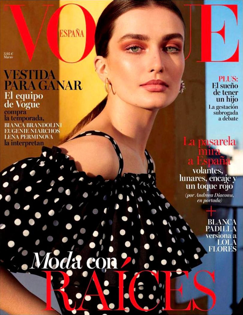 VOGUE Spain Magazine March 2017 ANDREEA DIACONU Blanca Padilla MARINA PEREZ