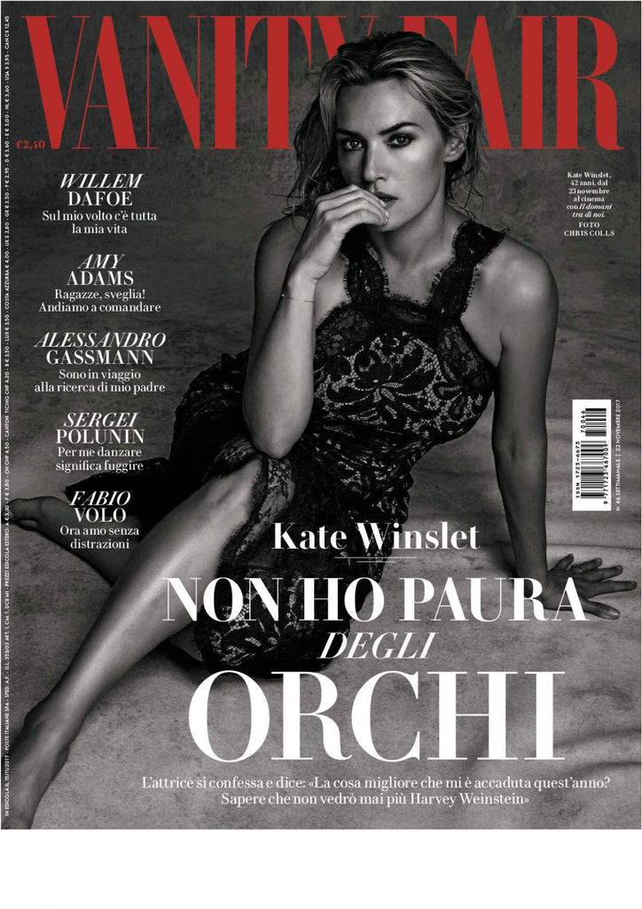 VANITY FAIR Italy Magazine November 2017 KATE WINSLET Amy Adams SERGEI POLUNIN