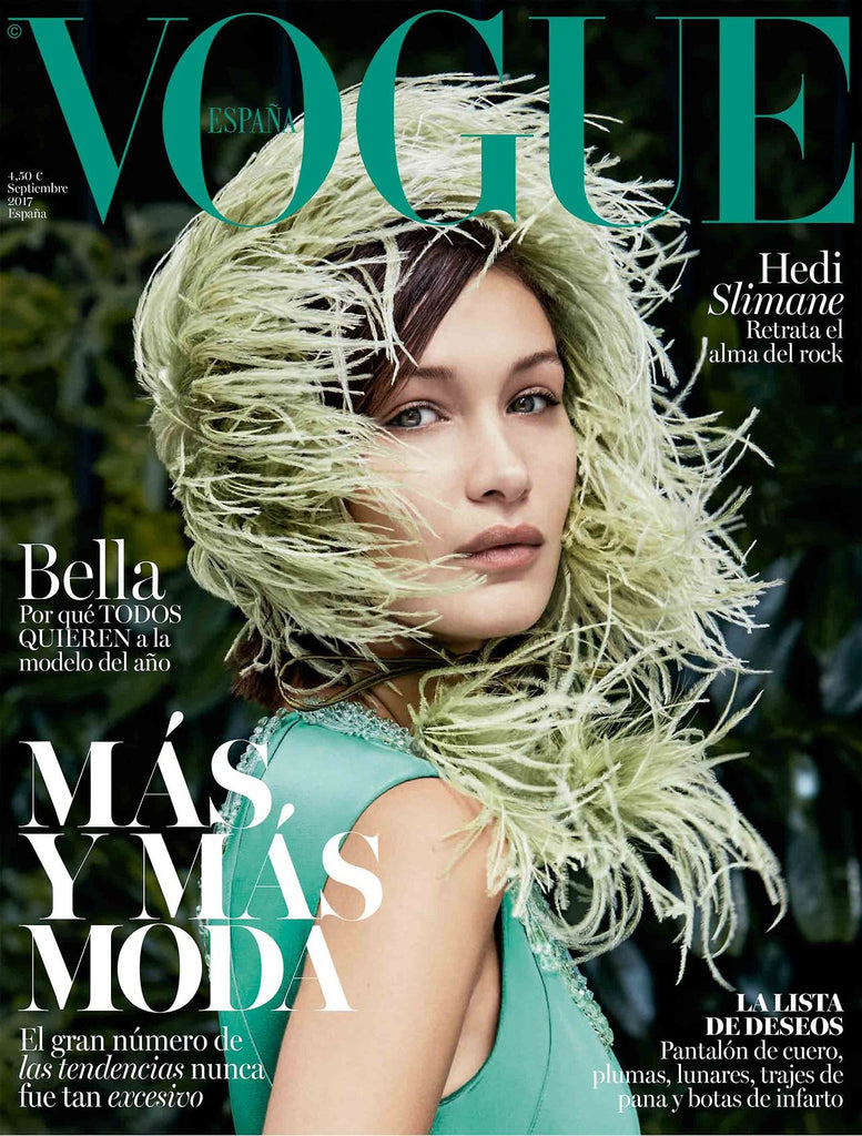 VOGUE Spain Magazine September 2017 BELLA HADID Hana Jirickova STEFFY ARGELICH