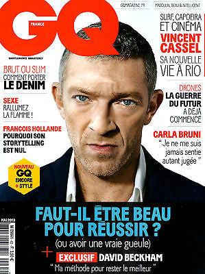 GQ France Magazine May 2013 VINCENT CASSEL Nicole Kidman REBECCA HALL