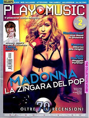 PLAY MUSIC Magazine June 2012 MADONNA Donna Summer SLASH Keane BOB MARLEY