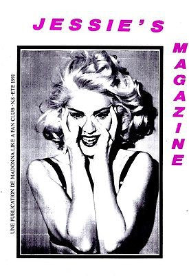 JESSIE's French Magazine Summer 1991 MADONNA Madame X