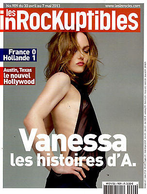 Les inROCKuptibles French Magazine 2013 VANESSA PARADIS Valerie June
