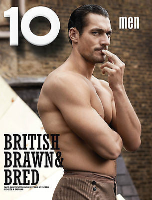 10 TEN MEN MAGAZINE #32 2012 DAVID GANDY Janis Ancens MICHEL GAUBERT