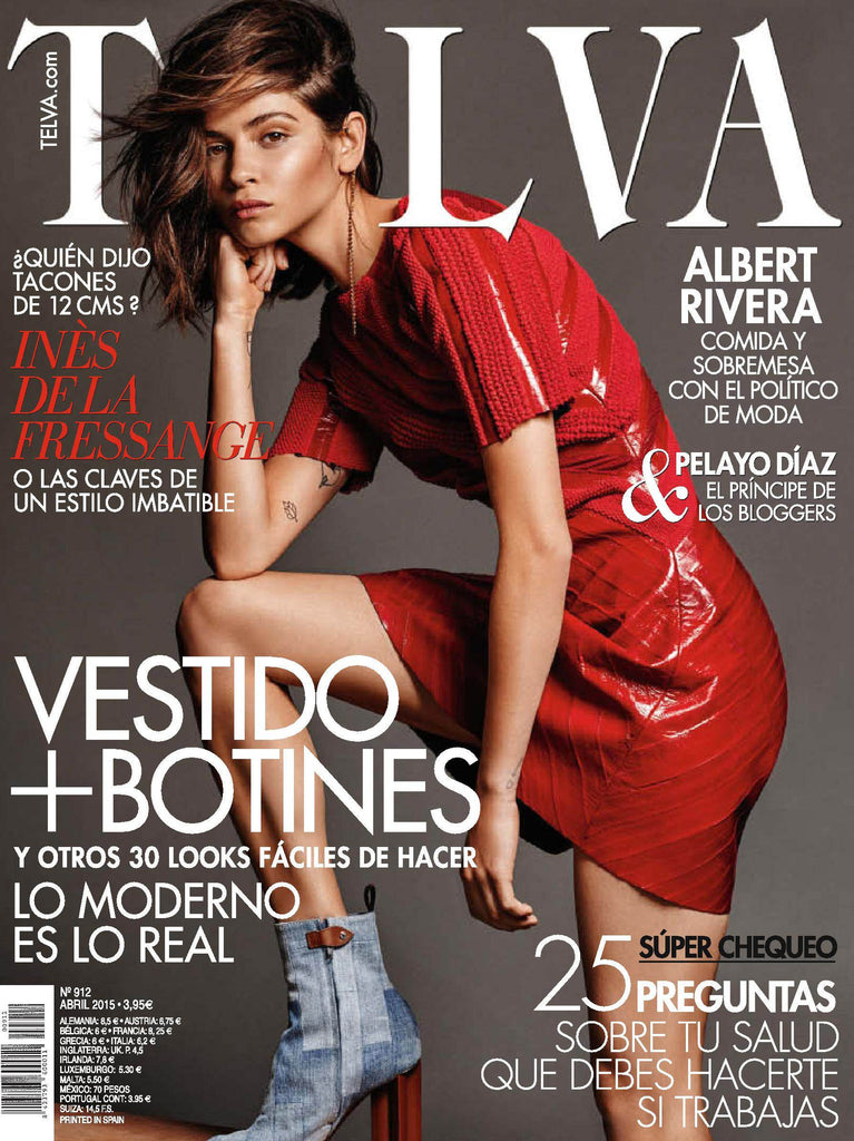 TELVA Magazine Spanish April 2015 ALBA GALOCHA Neus Bermejo PELAYO DIAZ