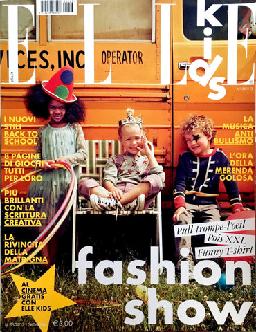 ELLE Kids Bambini Children Enfant Ninos Fashion Magazine September 2012