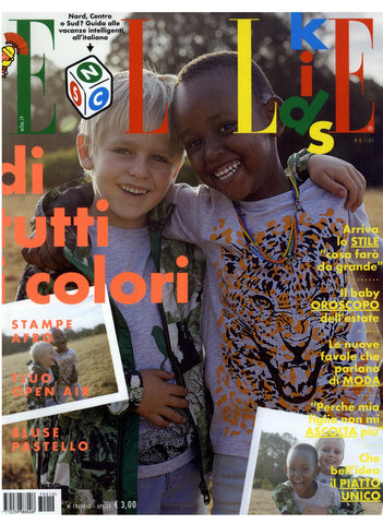 ELLE KIDS Junior Children Enfant Fashion BAMBINI Magazine April 2017