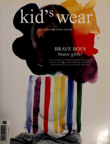 KID'S Wear Bambini Children Ninos Enfant Fashion Style Magazine FALL WINTER 2004