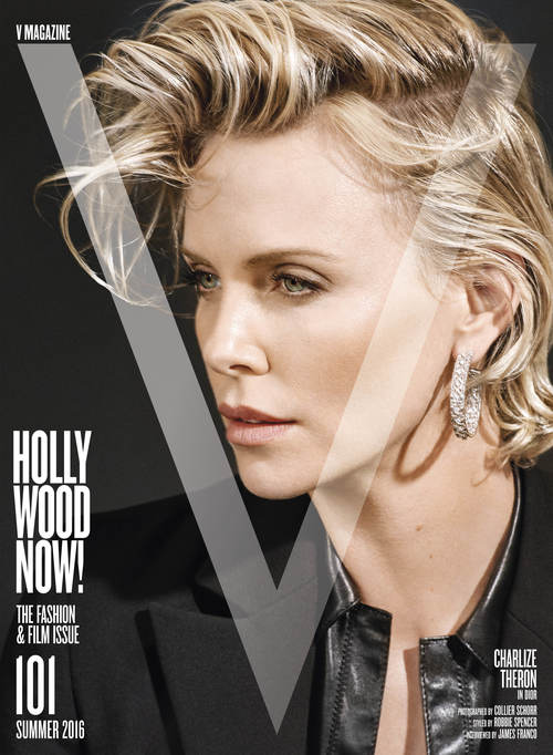 V Magazine #101 CHARLIZE THERON Taylor Hill KENDALL JENNER Lauren Alice Avery