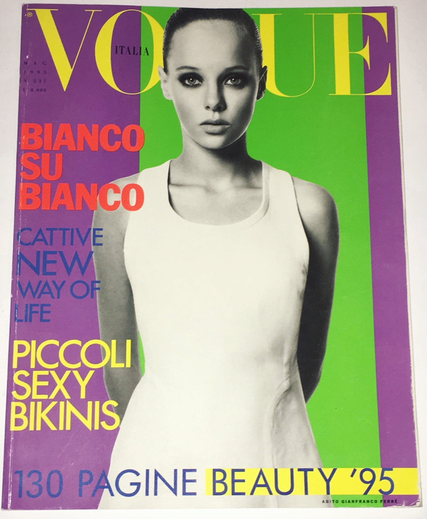 VOGUE Italia Magazine 1995 BIJOUX PHILLIPS Christina Kruse CHRISTY TURLINGTON