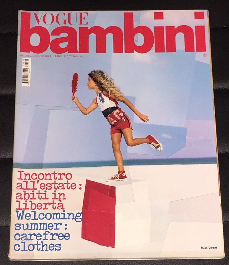 VOGUE BAMBINI Kids Children Enfant Fashion ITALIA Magazine May 2004
