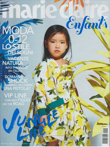 MARIE CLAIRE April 2016 Enfants Junior Children KIDS Ninos BAMBINI Fashion Magazine