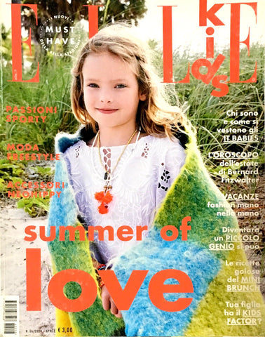 ELLE KIDS Junior Children Enfant Fashion Bambini Magazine Spring/Summer 2014