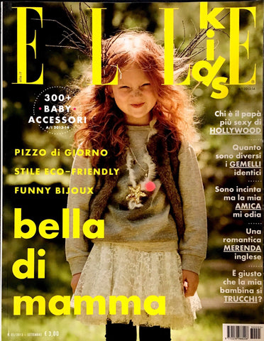 ELLE KIDS Junior Children Enfant Fashion Bambini Magazine Fall/Winter 2013