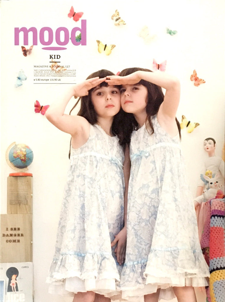 MOOD KID Bambini Children Ninos Enfant Fashion Magazine 2007