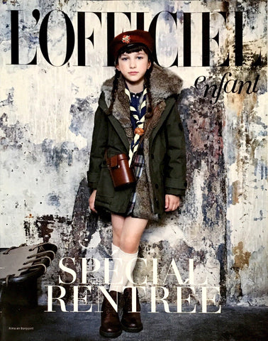 L'OFFICIEL Enfant September 2014 Bambini Kids Fashion Magazine JUNIOR