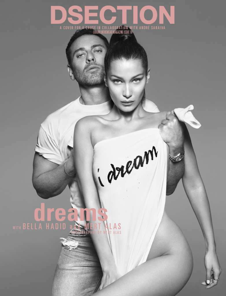 DSECTION Magazine#18  Winter 2017 BELLA HADID Mert Alas ANJA RUBIK Vito Basso