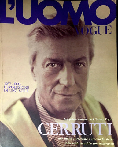 CERRUTI 1881 Fashion Book by L'UOMO VOGUE Magazine July 1993