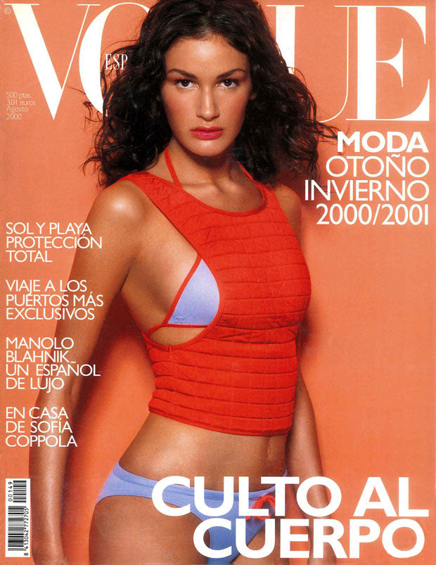 VOGUE Spain Magazine August 2000 GABRIELA CUBERT Sofia Coppola