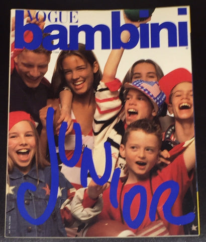 Vintage VOGUE BAMBINI Kids Children Enfant Fashion ITALIA Magazine May 1992