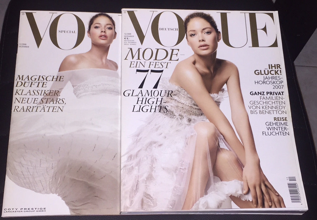 VOGUE Germany Magazine December 2006 DOUTZEN KROES Alison Nix + Supplement